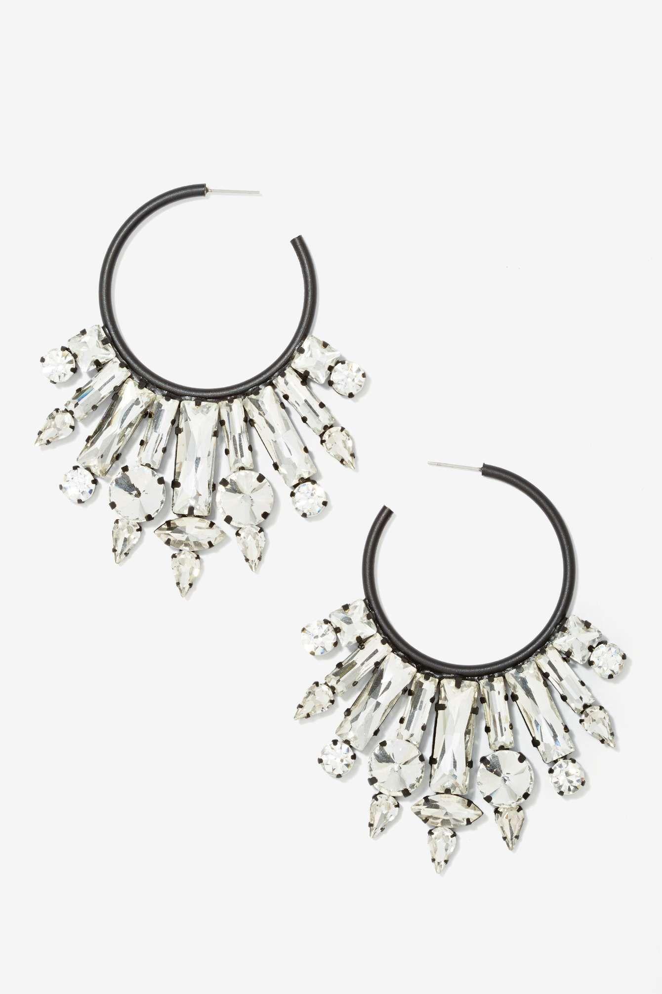 Ear No Evil Jeweled Earrings