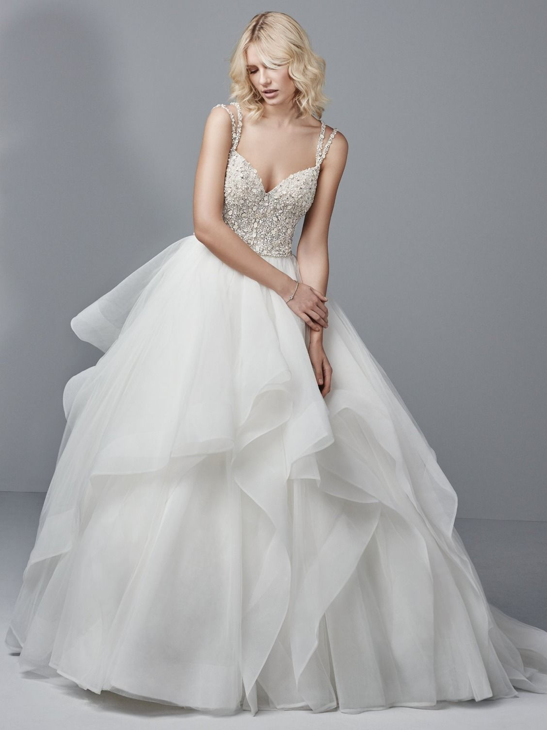 Maggie Sottero Wedding Dresses | Horsehair, Bodice and Wedding dress