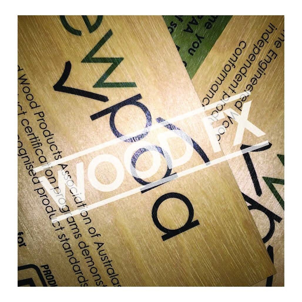 Wooden promotional piece.