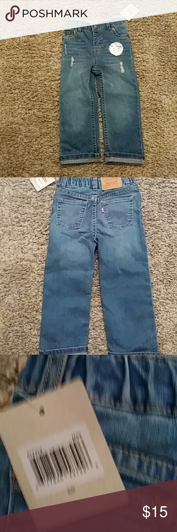 Levi's 514 Jeans NWT!!  Toddlers tethered 514 straight style jeans. Levi's Bottoms Jeans