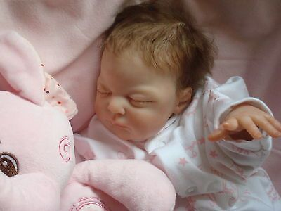 REBORN DOLL ROSIE NOW SOLD OUT LOVELY PREMIE BY LAURA EAGLES