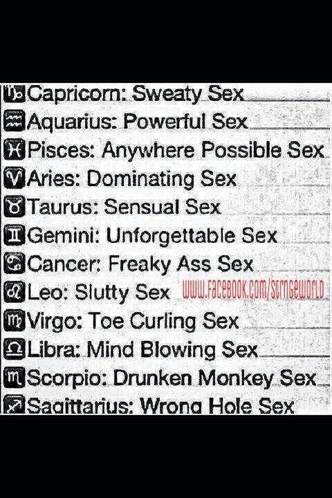 What are geminis known for sexually