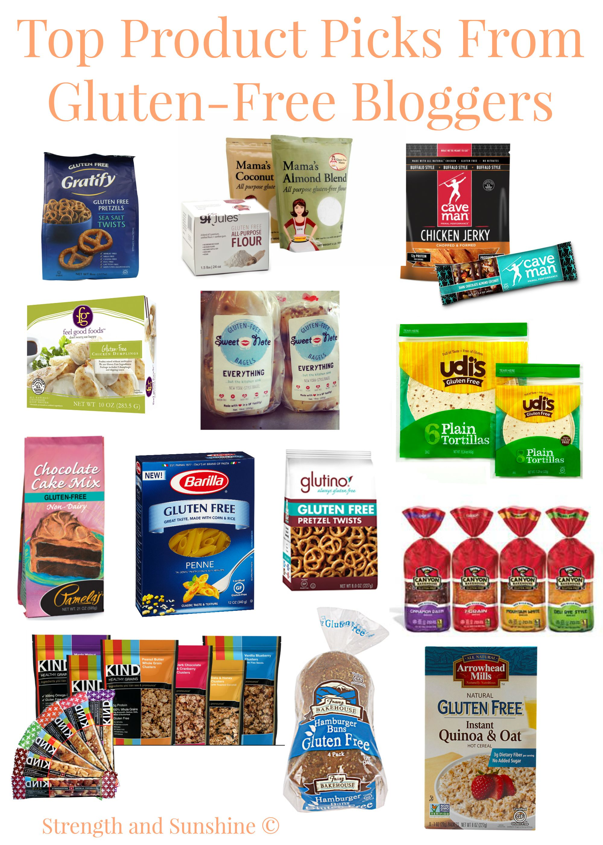 Top Product Picks From Gluten-Free Bloggers