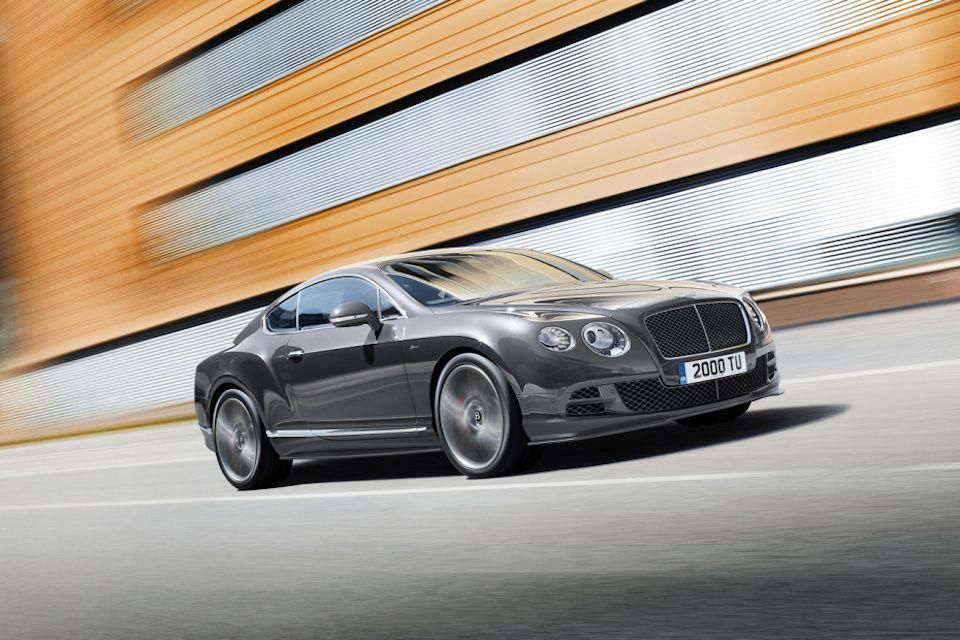 2015 Bentley Continental GT Speed. Quite possibly the