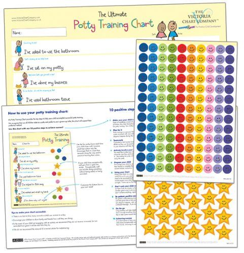 The Ultimate Potty Training Chart