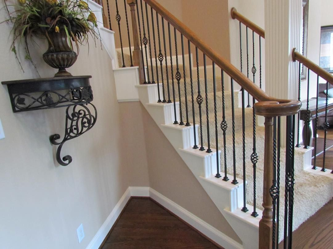 Best Pin By Stair Warehouse On Iron Balusters Stair Railing 400 x 300