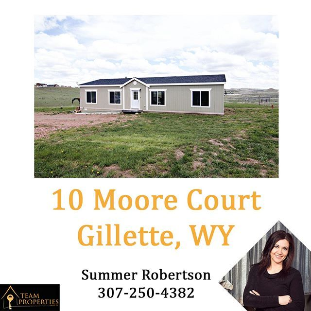 10 Moore Court Gillette WY Is A Great Home On 9 Acres Of Land This