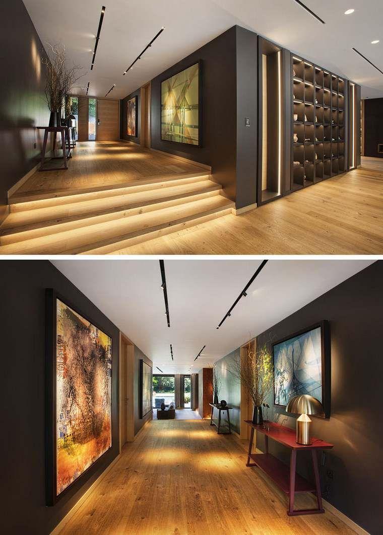 Belle maison moderne en turquie entrée et salon modern entryway hallway designs interior