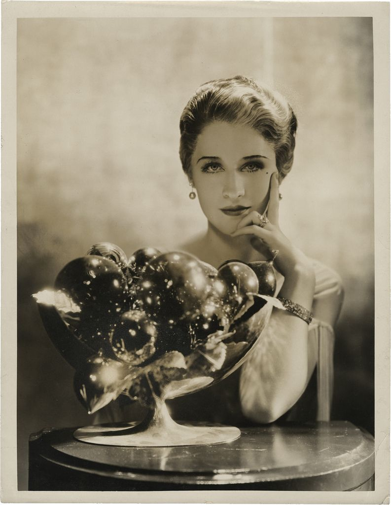 Norma Shearer, for Strange Interlude, 1932; photo by George Hurrell