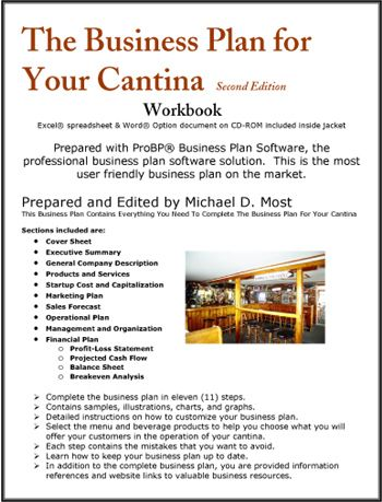 The Business Plan For Your Cantina  Business Plans