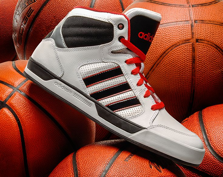 Men's Adidas BBNEO Raleigh Mid Shoes at