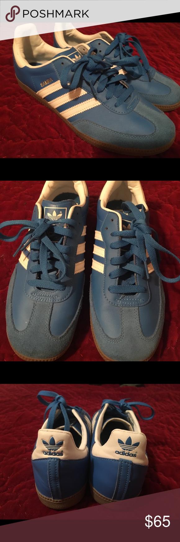 Scarpe Adidas Samba In Blu Brillante Adidas Samba Formatori In Bright