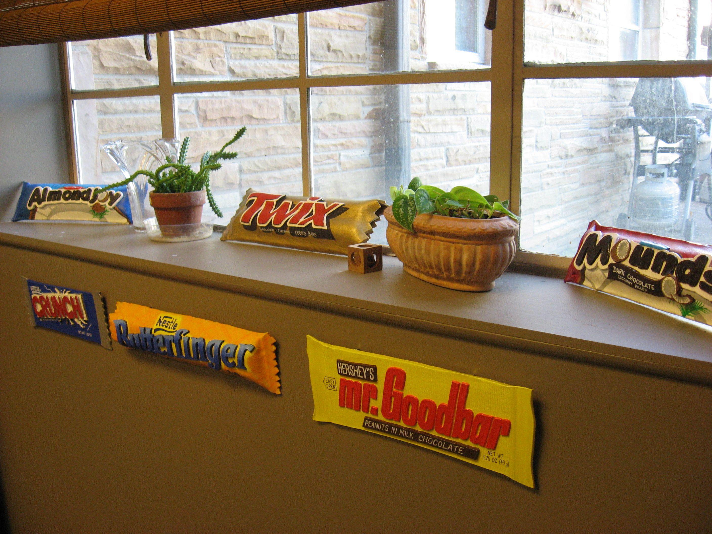 Candy Bar Art Project