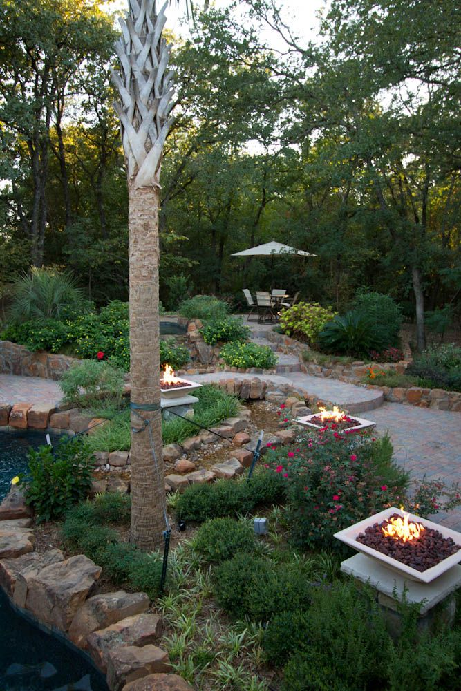 More fire. Like the private table area. Taylor Landscape Company - More Fire. Like The Private Table Area. Taylor Landscape Company