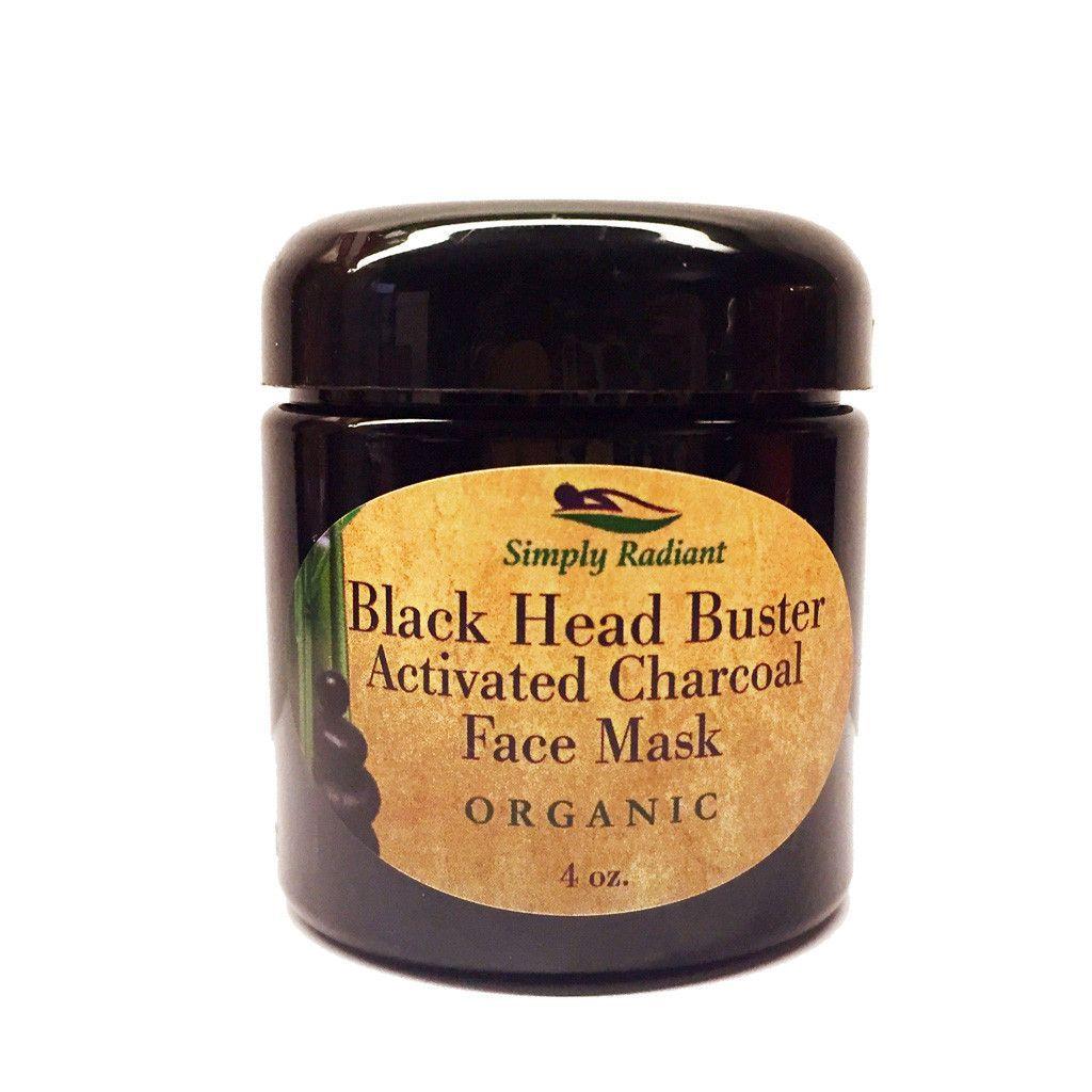 Diy Face Mask Activated Charcoal Powder Deep Cleanse Detox: Organic Activated Charcoal Face Mask