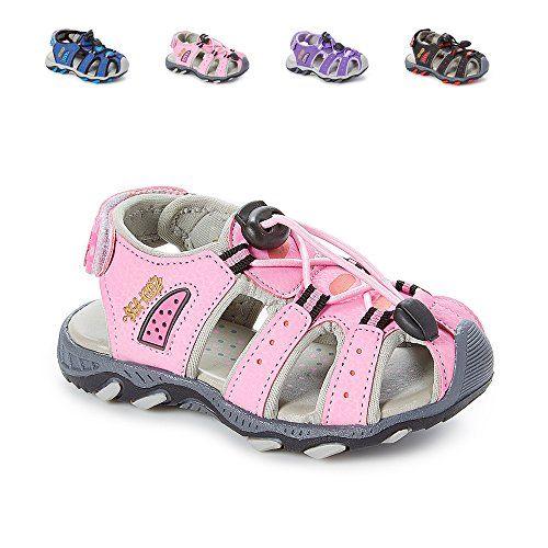 c6cb36ce59a6f2 Sea Kidz Kids Children Waterproof Hiking Sport Closed Toe Athletic Sandals ( Toddler Little Kid Big Kid)