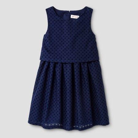 440fc52cd58 Toddler Girls  A Line Dress Cat   Jack™ - Nightfall Blue   Target ...