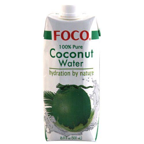 COCONUT WATER, acqua di cocco: è buona e fa bene! (Lo trovate da Kathay a Milano)