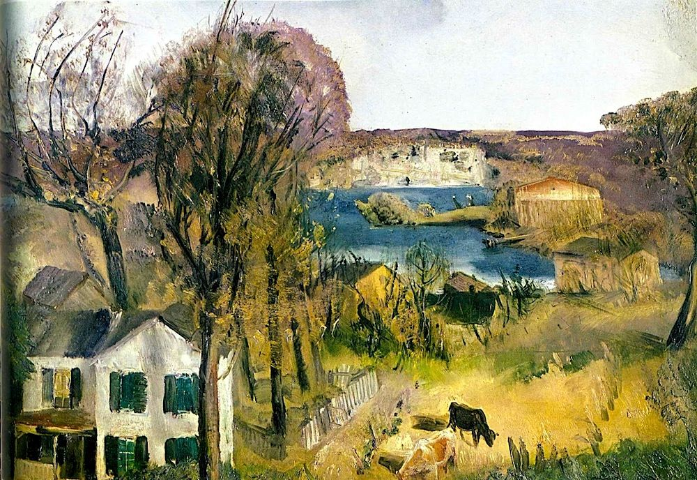 George Bellows | Art, Landscape art, Country art  |1950s American Realism Art Landscapes