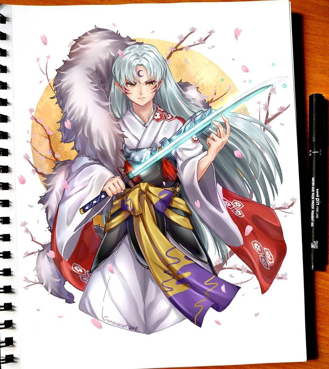 Sesshomaru And Tenseiga Lord Sesshomaru From Inuyasha Finally I