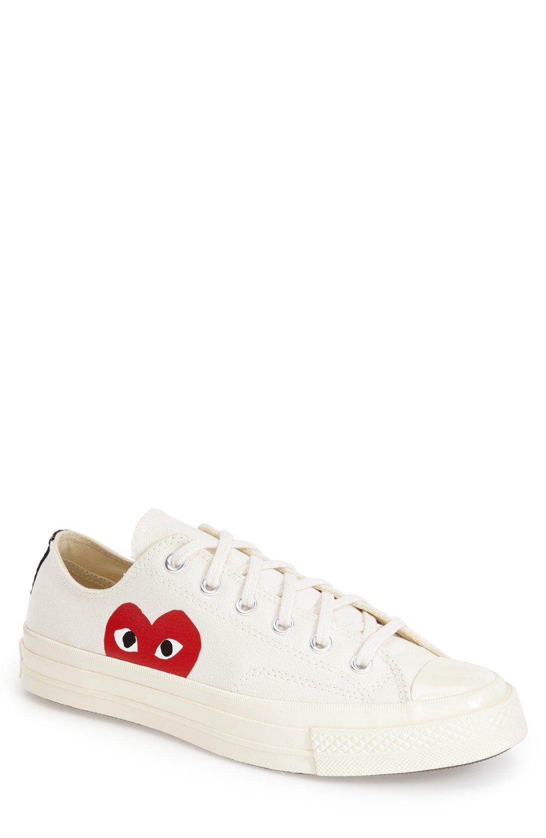 99d9ea066966 Comme des Garçons PLAY x Converse Chuck Taylor® Low Top Sneaker (Men)  available at  Nordstrom
