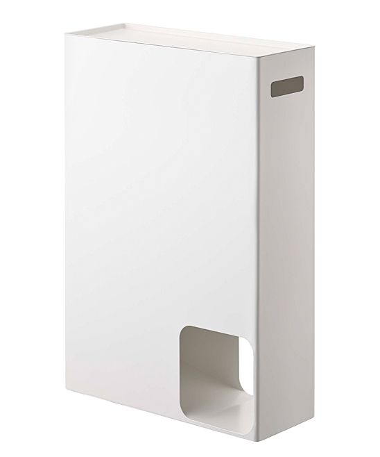 White Toilet Paper Storage Holder