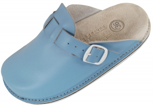Skorzane Damskie Klapki Fusbet Shoes Sandals Fashion