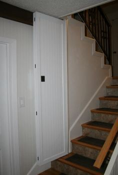 Install Door At Bottom Of Stairs Google Search