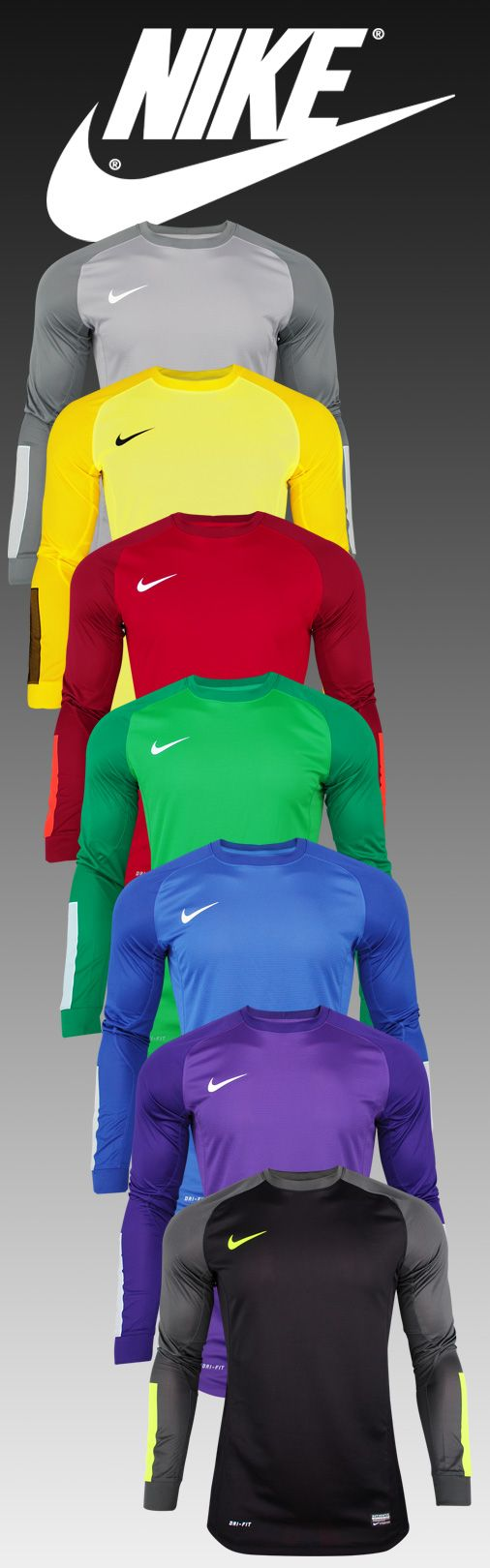 nike sportswear blazer - Goalkeeper Set Nike Squad Flash | Goalkeeper Shirts | Pinterest ...