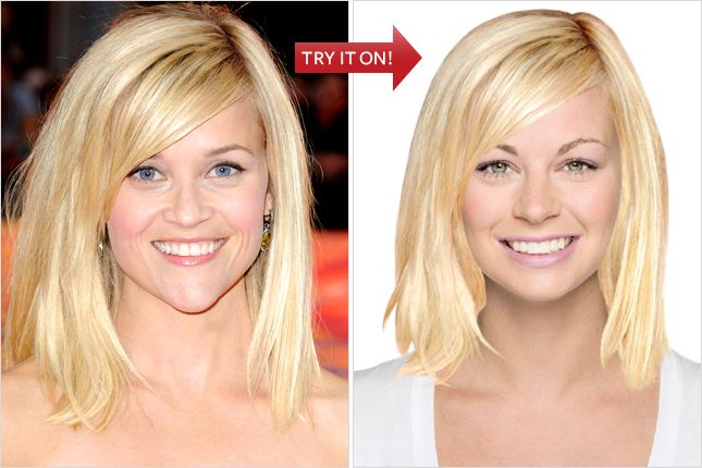 Hollywood Hair Virtual Makeover - Try On Celebrity Hairstyles Online ...