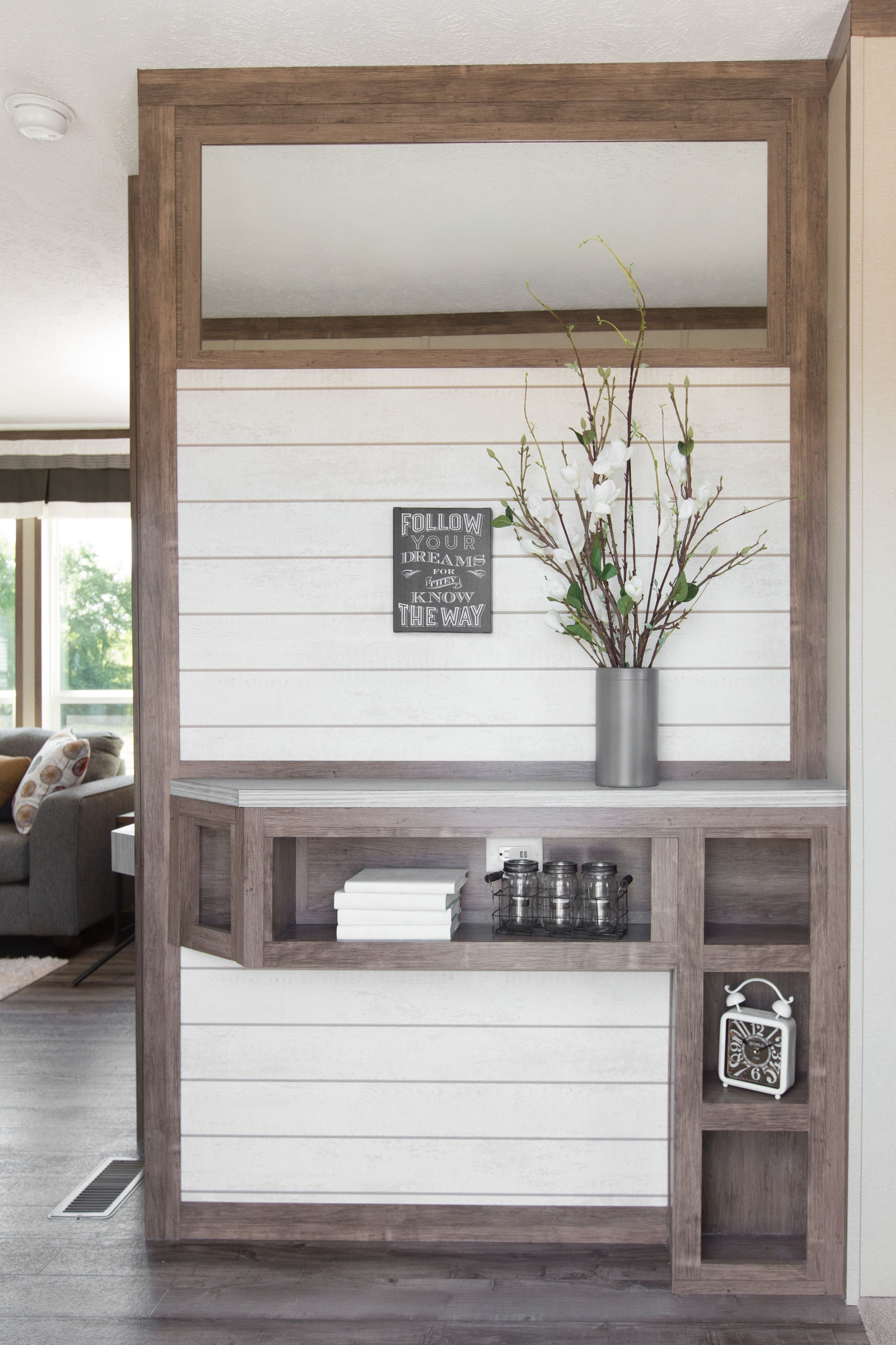 Wonderful Wainscoting in Manufactured and Modular Homes   Farm house ...
