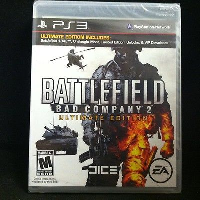 Battlefield Bad Company 2 Ultimate Edition Playstation 3 Dlc