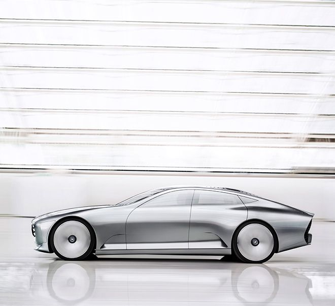 Mercedes-Benz Concept IAA Evolves Mid-Drive From Coupe To