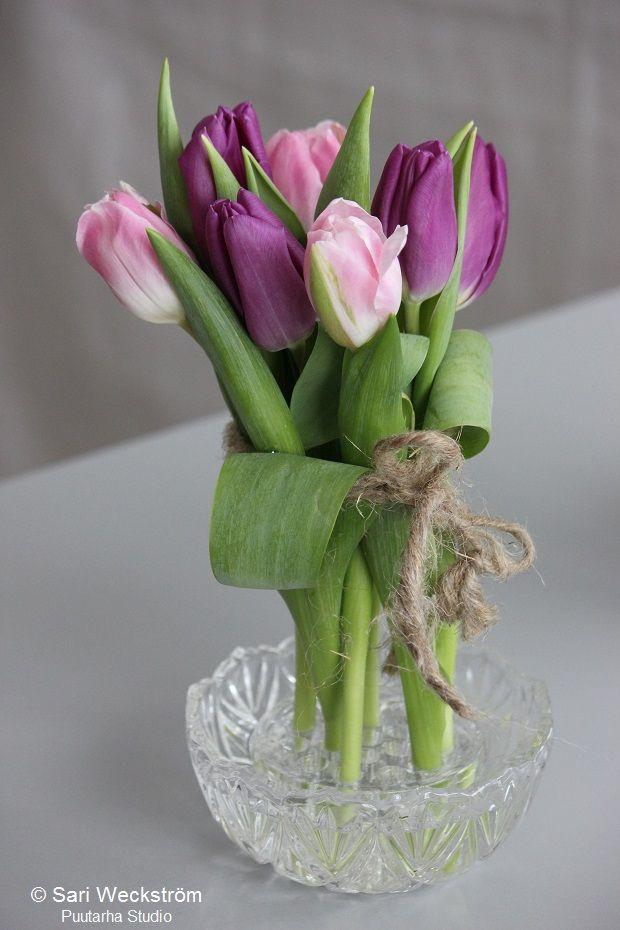 Tulppaani-ideoita ystävänpäiväksi @asuntomessublogit
