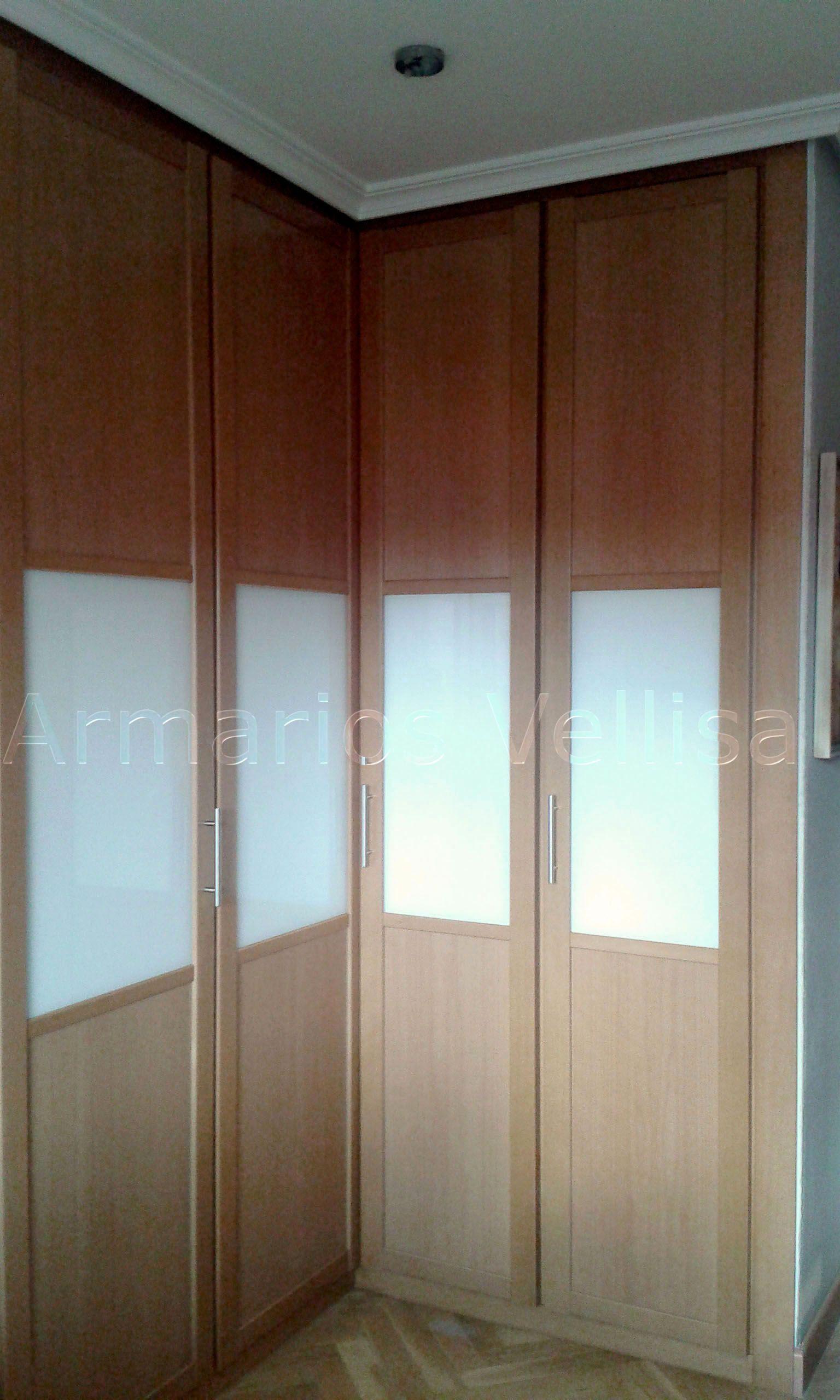 Armarios empotrados puertas abatibles gallery of armario puertas plegables with armarios - Puertas plegables armarios empotrados ...