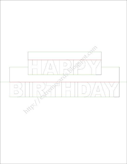 Happy Birthday Pop Up Card Birthday Cards Pinterest Cards