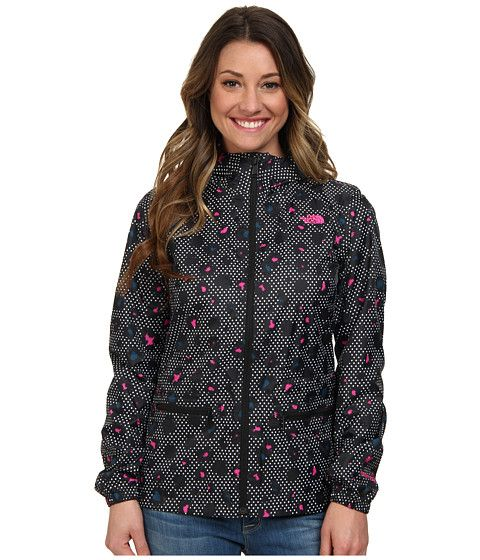 53dbc6907 The North Face Karenna Rain Jacket TNF Black Dotted Leopard - 6pm ...