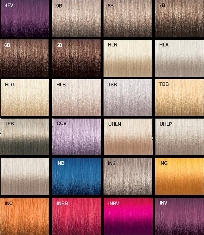 Vero K Pak Chrome Color Swatches Joico Color Pinterest