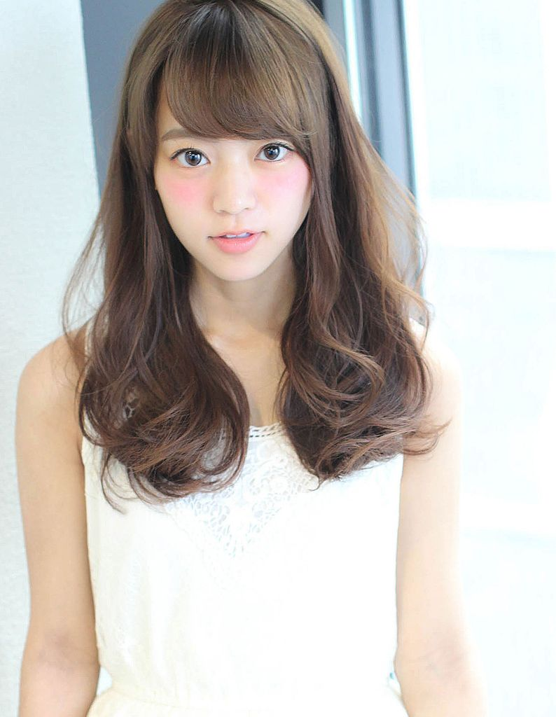 好感度な小顔ロングパーマ So 189 ヘアカタログ 髪型 ヘア