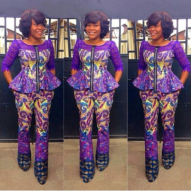 Ankara And Lace Combinations Design Http Www