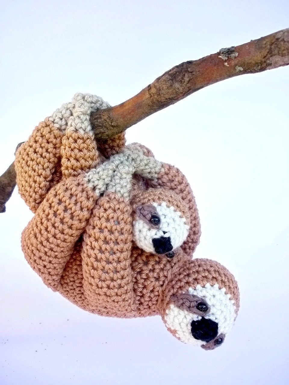 Finally my best seller the sloth had a baby! These adorable sloths ...