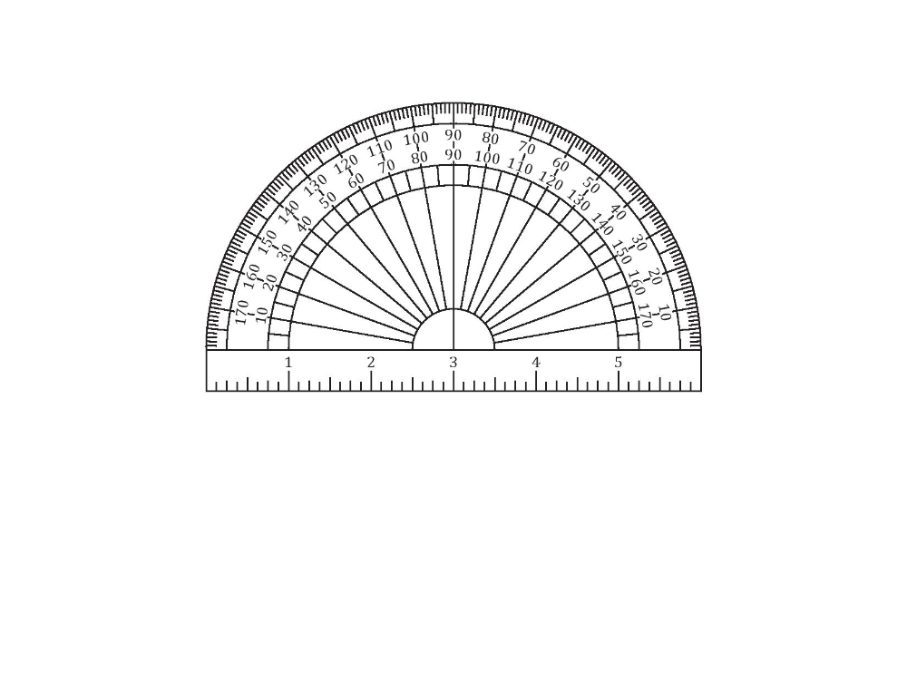 Best 3+ Printable Protractor PDF Images You Calendars