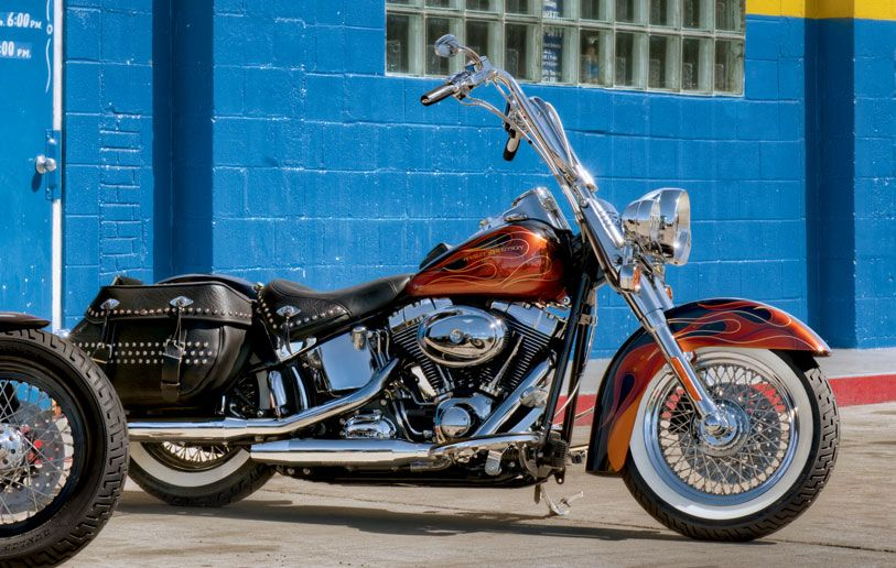 Raise your fists for this #classic. | Harley-Davidson 2011 Heritage #Softail®