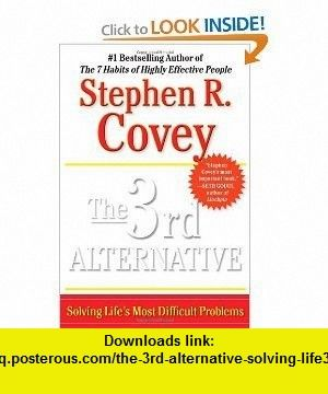 third alternative book stephen covey pdf download