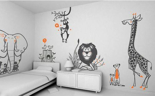 Wandtattoo Muster Fur Jeden Geschmack 28 Coole Wanddekoration Ideen