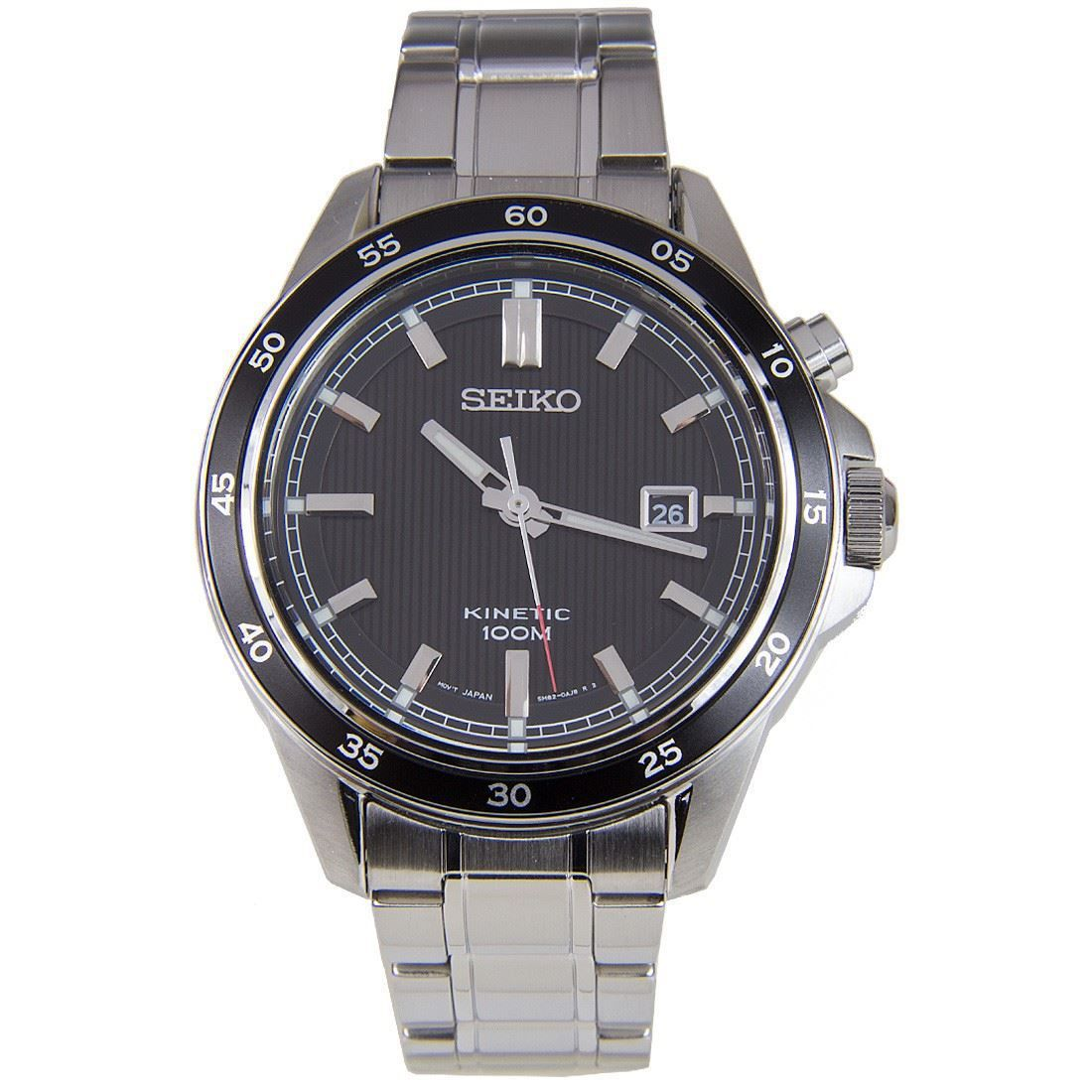 Seiko SKA641P1 SKA641 Black Dial Mens Dress Watch