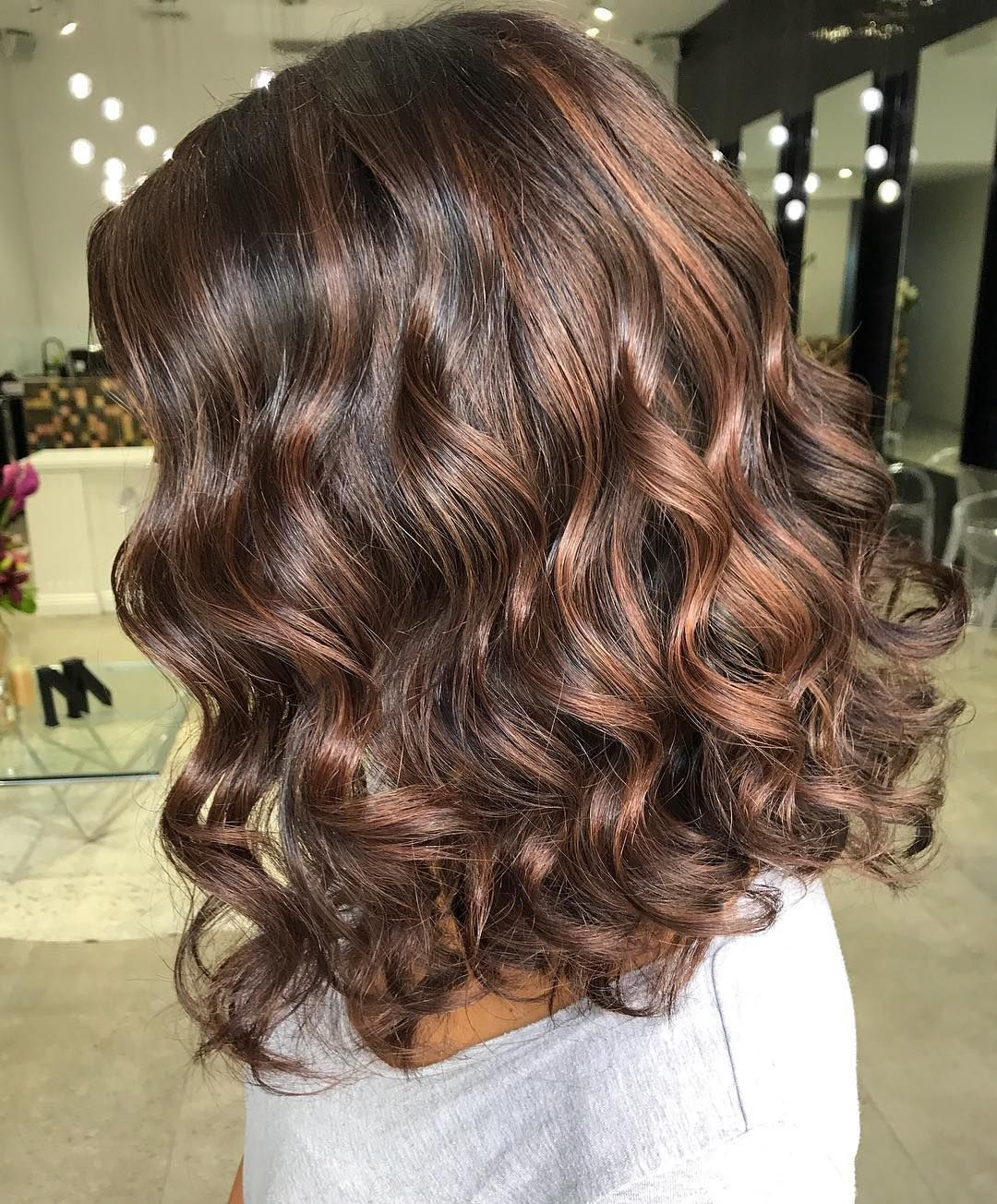 Love This Curly Lob Styled By Dodiejayhair Curly Lob Lob Styling Hair