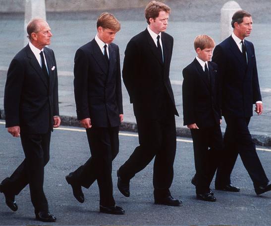 Kleidung Beerdigung Mann, Dianas Beerdigung William Folgte ...