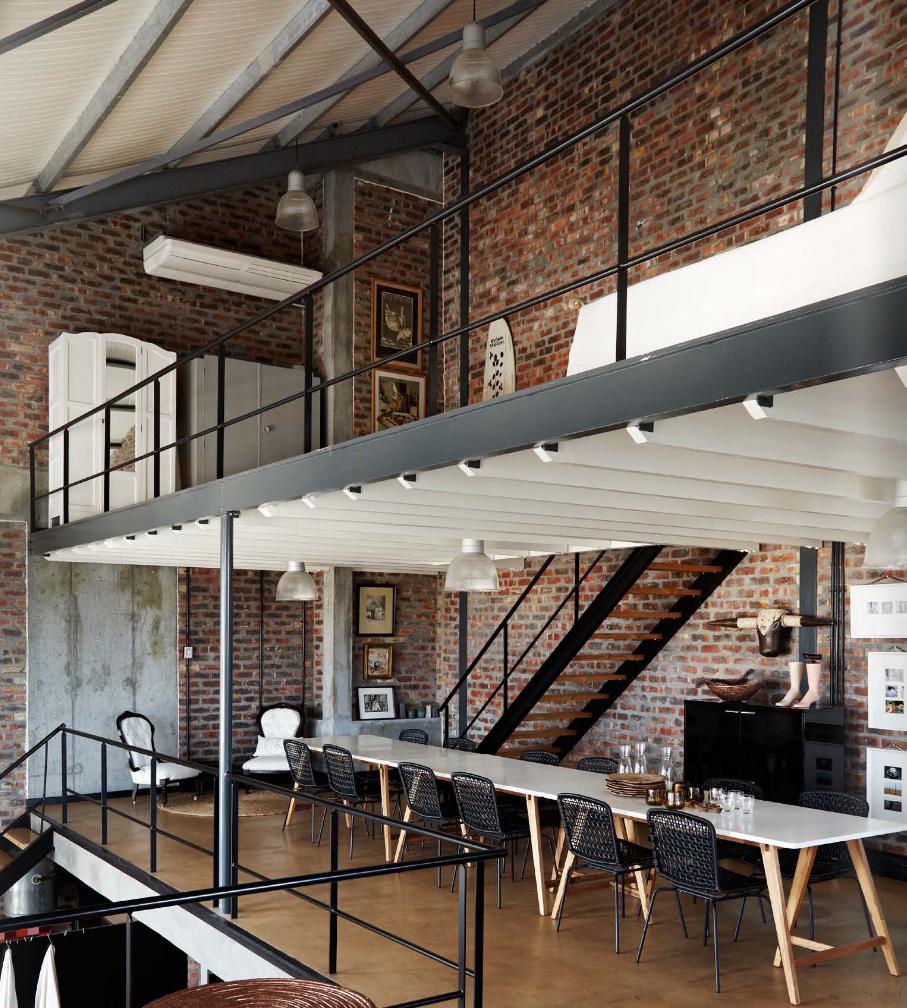 Industrial Loft: Loft Style / Est Magazine