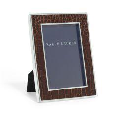 Chapman Embossed-Leather Frame - Ralph Lauren Home Frames - RalphLauren.com